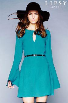 Lipsy Bell Sleeve Dress