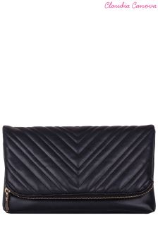 Claudia Canova Quilted Clutch Bag