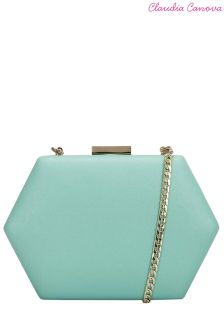 Claudia Canova Hard Case Clutch Bag