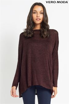Vero Moda Chocolate Over Size Jumper
