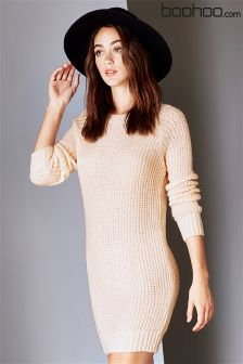 Boohoo Maria Soft Knit Jumper Dress