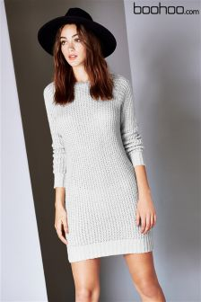 Boohoo Maria Soft Knit Jumper Dress