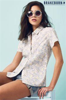 Brakeburn Floral Print Shirt