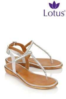 Lotus Glitzy Sandals