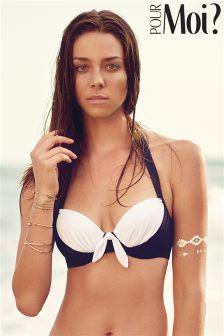 Pour Moi Bahamas Padded Halter Bikini Top