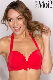 Pour Moi Splash Padded Underwired Bikini Top