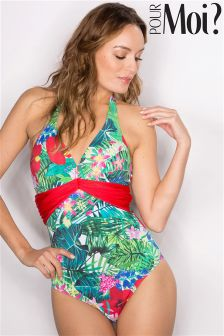 Pour Moi Jungle Fever Underwired Swimsuit