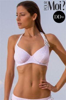 Pour Moi Bora Bora Halter Bikini Top DD+