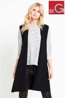 Wal G Soft Sleeveless Waistcoat