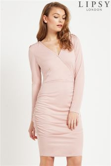 Lipsy Ruched Bodycon Dress