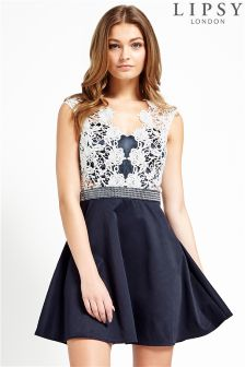 Lipsy Lace 2 In 1 Prom Dress