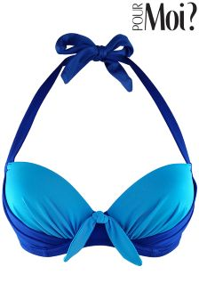 Pour Moi Padded Halter Bikini Top