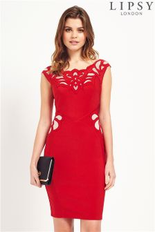 Lipsy Appliqué Bodycon Dress
