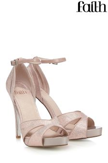 Faith Platform Heeled Sandal