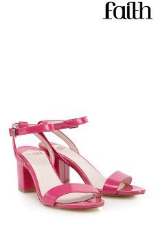 Faith Chunky Heeled Sandals
