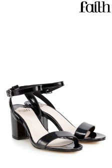 Faith Chunky Heeled Sandals