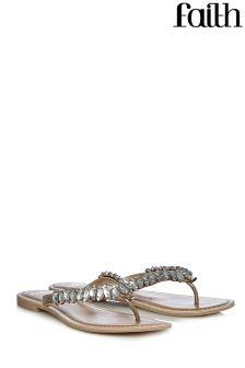Faith Jewelled Sandals
