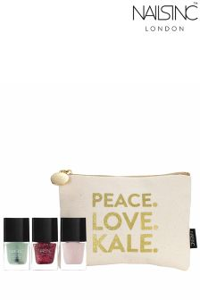 Nails Inc Peace Love Kale Gift Set