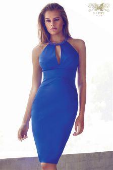 Lipsy VIP Embellished Halterneck Dress