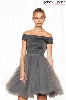 Jones & Jones Bardot Ballerina Dress