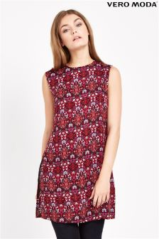 Vero Moda Print Shirt Dress