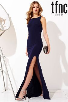 tfnc Knotted Backless Maxi Dress