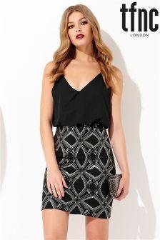 tfnc Embellished Skirt Cami Dress
