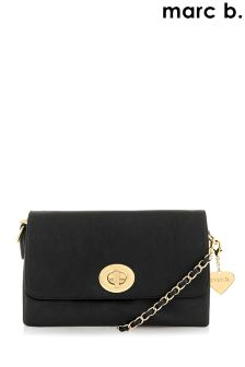 Marc B Quilted Clutch Bag