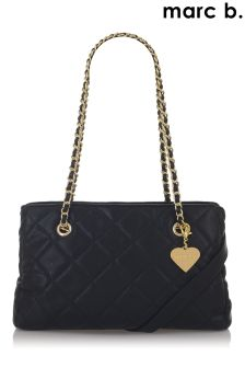 Marc B Quilted Frame Bag