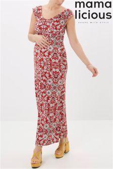 Mamalicious Jersey Maternity Maxi Dress