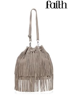 Faith Tiered Fringe Duffle