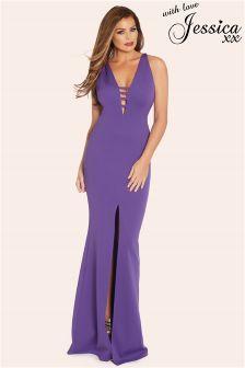 Jessica Wright Serena Fishtail Maxi Dress