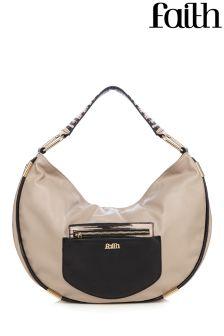 Faith Zebra Hobo Bag