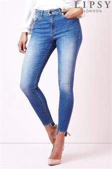 Lipsy Lift & Shape Step Hem Skinny Jeans