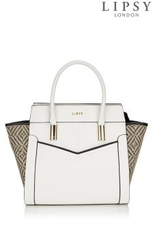 Lipsy Weave Tote