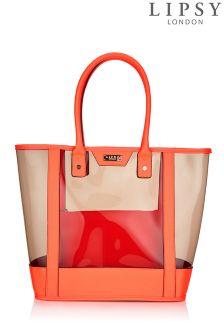 Lipsy Neon Beach Bag