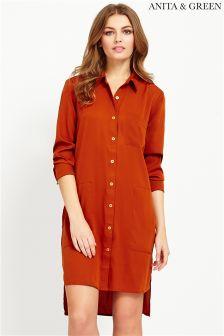 Anita & Green Oversize Shirt Dress