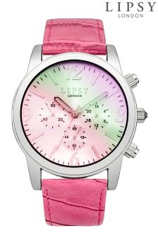 Lipsy Iridescent Face Watch