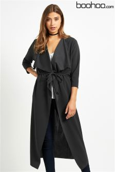 Boohoo Lightweight Waterfall Jacket