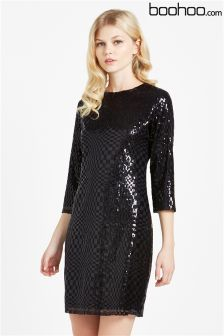 Boohoo Sequin Dress