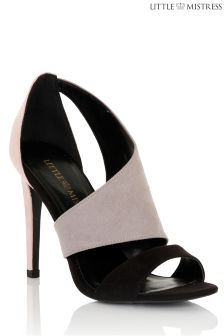 Little Mistress Contrast Cut Out Shoe Boots