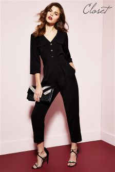 Closet Pocket Detail Jumpsuit