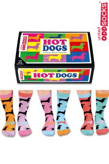 United Oddsocks Poochy 6 Pack Socks
