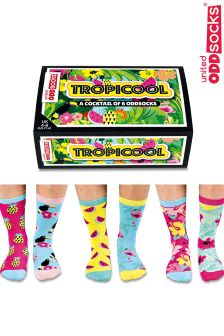 United Oddsocks Tropicool 6 Pack Socks