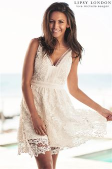 Lipsy Love Michelle Keegan Crochet Cami Dress