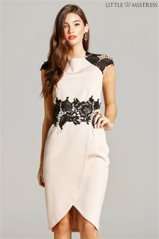 Little Mistress Dress With Lace Detail