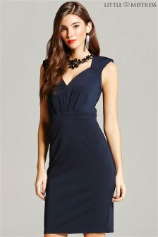 Little Mistress Embellished Bodycon Dress