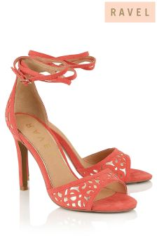 Ravel Laser Cut Sandals