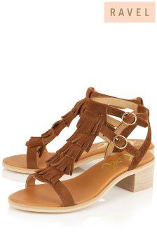 Ravel Fringe Detail Sandals