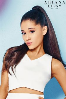 Ariana Grande For Lipsy Lace Back Crop Top